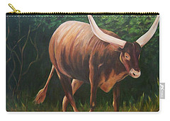A Lot Of Bull, Watusi  Carry-all Pouch