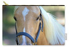Carry-all Pouch featuring the photograph A Loyal Friend by Gordon Elwell
