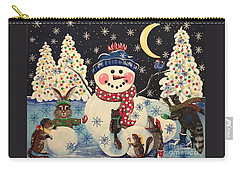 A Magical Night In The Snow Carry-all Pouch