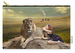 A Magnificent Friendship Carry-all Pouch by Linda Lees