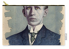 Carry-all Pouch featuring the painting A Man Who Used To Be Somebody To Someone by James W Johnson
