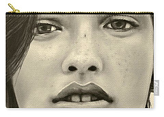 A Mark Of Beauty - Megan Ewing Carry-all Pouch