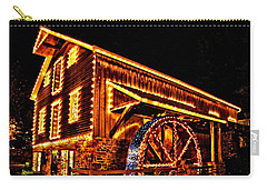 A Mill In Lights Carry-all Pouch