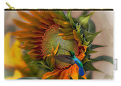 A Moment In Time Carry-all Pouch by John  Kolenberg