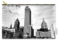 Carry-all Pouch featuring the photograph A Moment In Time...tulsa Ok by Chris Tarpening
