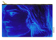 A Moody Blue Carry-all Pouch