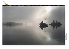 A Moody Morning Carry-all Pouch by Mark Alan Perry