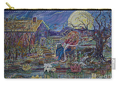 A Nap By The Lily Pond Carry-all Pouch by Avonelle Kelsey