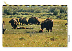 A New Beginning Grand Teton National Park Carry-all Pouch by Ed  Riche