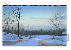 Carry-all Pouch featuring the painting A New Dawn by Mike Brown