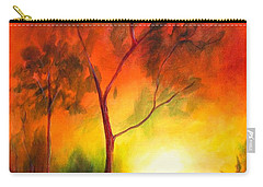 A New Day Carry-all Pouch by Alison Caltrider