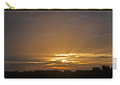 Carry-all Pouch featuring the photograph A New Day - Sunrise In Texas by Todd Aaron
