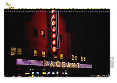 A Night At The Pageant Carry-all Pouch