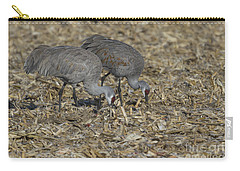 A Pair Of Sandhill Cranes Carry-all Pouch