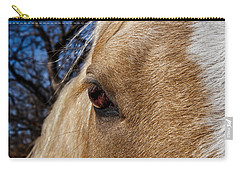 A Palomino's Eye. Carry-all Pouch