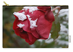 A Passing Unrequited - Rose In Winter Carry-all Pouch