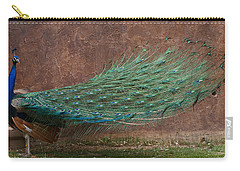 A Peacock Carry-all Pouch