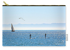 A Perfect Santa Barbara Day Carry-all Pouch by Susan Wiedmann