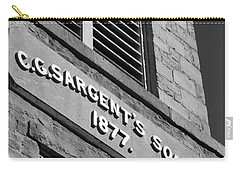 A Piece Of History Carry-all Pouch by Barbara Bardzik