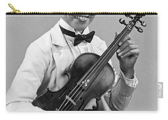 A Proud And Elegant Violinist Carry-all Pouch