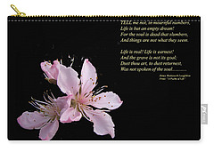 A Psalm Of Life Carry-all Pouch