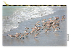 Carry-all Pouch featuring the photograph A Quick Bite by Mariarosa Rockefeller