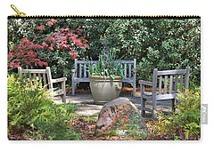 A Quiet Place To Meet Carry-all Pouch by Gordon Elwell