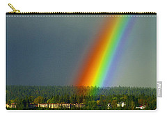 A Rainbow Blessing Spokane Carry-all Pouch