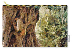 A Really Old Olive Tree Carry-all Pouch