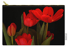 A Red Tulip Day Carry-all Pouch