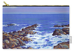 A Rocky Coast Carry-all Pouch