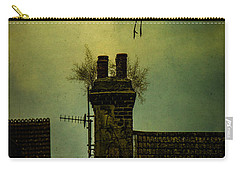 Carry-all Pouch featuring the photograph A Room For The Night by Chris Lord