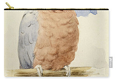 A Rose Breasted Cockatoo Carry-all Pouch by Henry Stacey Marks