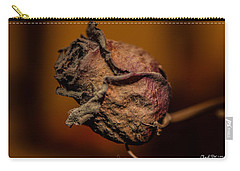 A Rose By Any Other Name... Carry-all Pouch by Charlie Duncan