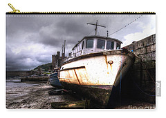 Carry-all Pouch featuring the photograph A Rough Ride by Doc Braham