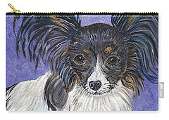 A Royal Papillon Carry-all Pouch