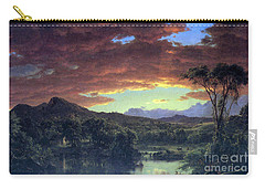 A Rural Home By Frederick Edwin Church Carry-all Pouch