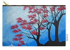 Carry-all Pouch featuring the painting A Safe Place by Dan Whittemore