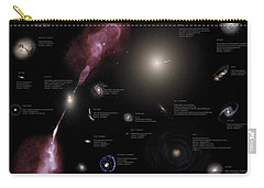 A Selection Of Galaxies Shown Carry-all Pouch