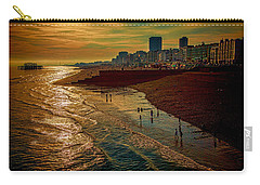 Carry-all Pouch featuring the photograph A September Evening In Brighton by Chris Lord