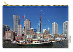 A Ship In Boston Harbor Carry-all Pouch