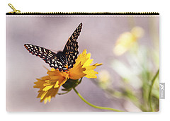 A Sip Of Coreopsis Carry-all Pouch by Caitlyn  Grasso