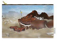 A Slow Death In Piano Valley - Panoramic Carry-all Pouch