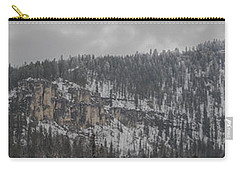 A Snowy Day In Spearfish Canyon Of South Dakota Carry-all Pouch