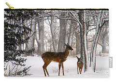 A Snowy Path Carry-all Pouch