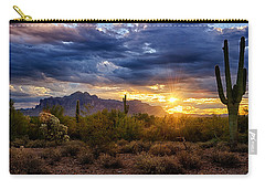 A Sonoran Desert Sunrise Carry-all Pouch