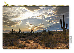 A Sonoran Desert Sunset  Carry-all Pouch