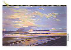 Carry-all Pouch featuring the painting A South Facing Shore by Donna Blossom