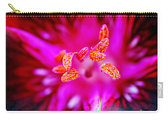 Carry-all Pouch featuring the photograph A Splash Of Colour by Wendy Wilton