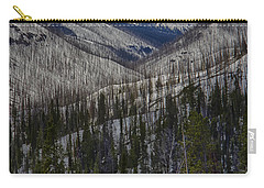 A Spring's Look To The Right On The Way Into Yellowstone Carry-all Pouch